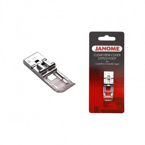 Прозрачная лапка для распошивальной машины  JANOME 795818107 - Интернет-магазин