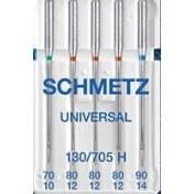 Иглы SCHMETZ универсальные №70(1)-80(3)-90(1)