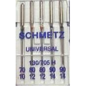 Иглы SCHMETZ универсальные №70(1)-80(2)-90(2)