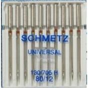 Иглы SCHMETZ универсальные №80 (10)