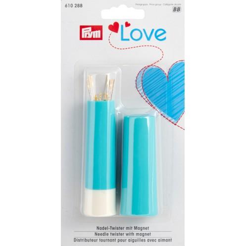 Игольница-тубус  Love с набором игл PRYM 610288 - Интернет-магазин