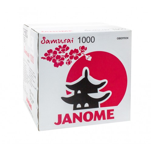 JANOME Samurai 1000 - Интернет-магазин