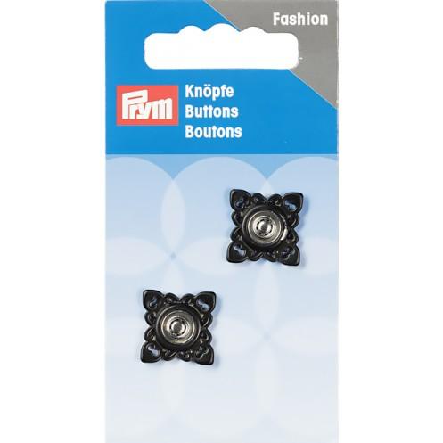 Пришивные кнопки квадратные, 21 мм PRYM 341935 - Интернет-магазин