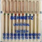 Иглы SCHMETZ универсальные №70-110 (10)