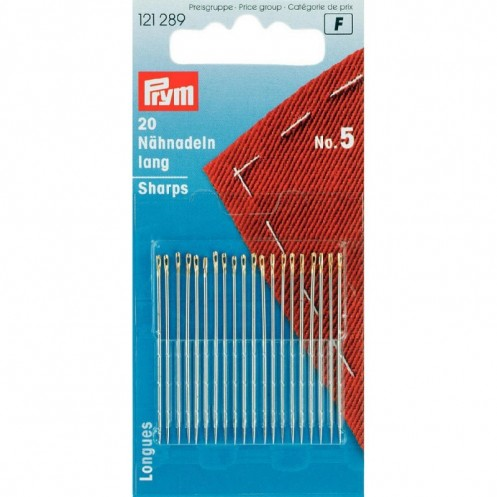 Иглы для шитья ручные №5 PRYM 121289 - Интернет-магазин