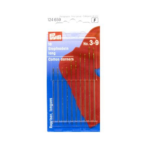 Иглы длинные № 3-9 PRYM 124659 - Интернет-магазин