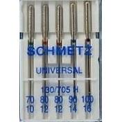 Иглы SCHMETZ универсальные №70(1)-80(2)-90(1)-100(1)