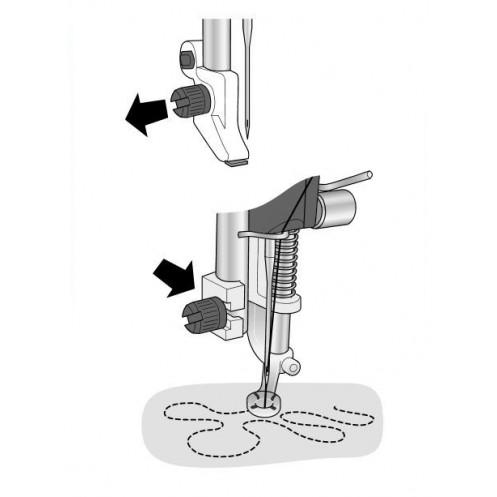 Закрытая пружинная лапка для свободной техники HUSQVARNA 4133856-45 - Интернет-магазин