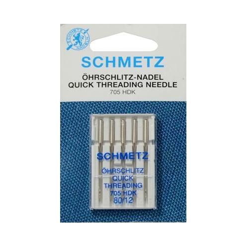 SCHMETZ универсальные с прорезью для быстрой заправки №80 (5) - Интернет-магазин