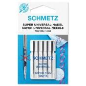 Иглы SCHMETZ супер универсальные с покрытием антиклей №90
