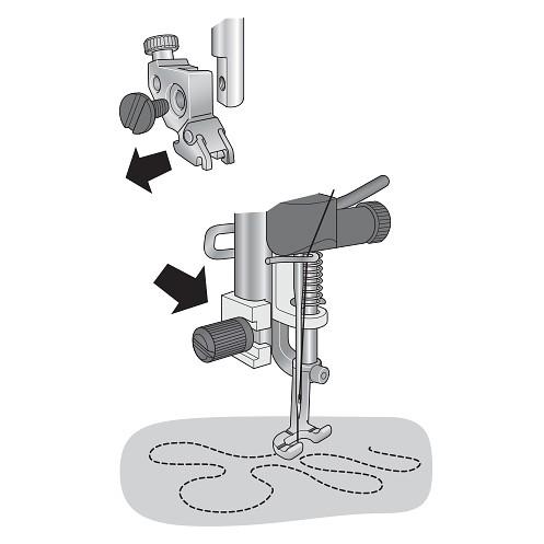 Открытая пружинная лапка для простегивания PFAFF 821141-096 - Интернет-магазин