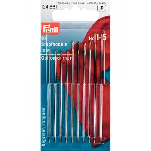 Иглы ручные длинные №1-5 PRYM PRYM 124661 - Интернет-магазин