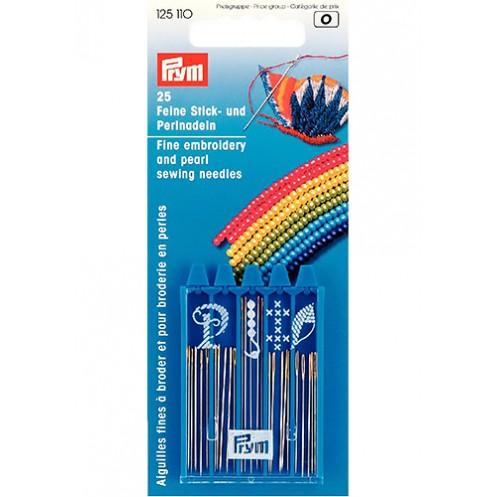 Набор игл для вышивания и бисероплетения PRYM PRYM 125110 - Интернет-магазин