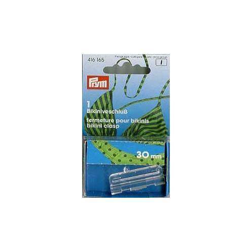 Застежка для бикини прозрачная 30мм  PRYM 416165 - Интернет-магазин