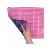 Коврик розово-фиолетовый  90x60 см DONWEI DW-12121(AB)