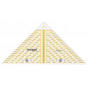 Линейка для пэчворка, треугольник 1/4 квадрата PRYM 611313