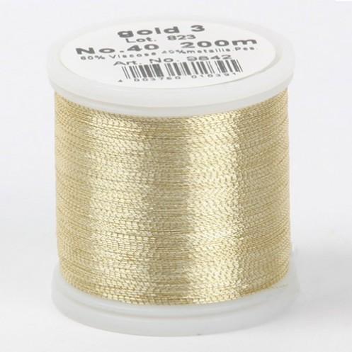 MADEIRA Metallic №40 200м цвет gold-3 - Интернет-магазин