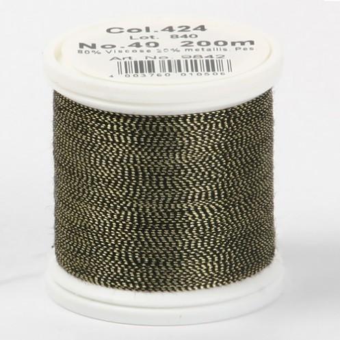 JANOME Metallic №40 200м цвет 424 - Интернет-магазин