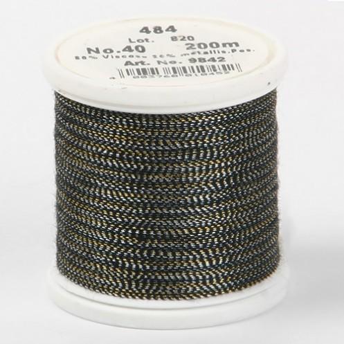 MADEIRA Metallic №40 200м цвет 484 - Интернет-магазин