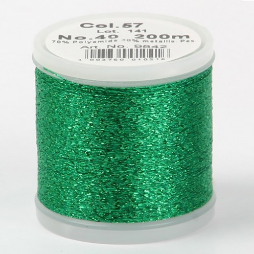 MADEIRA Metallic №40 200м цвет 57 - Интернет-магазин