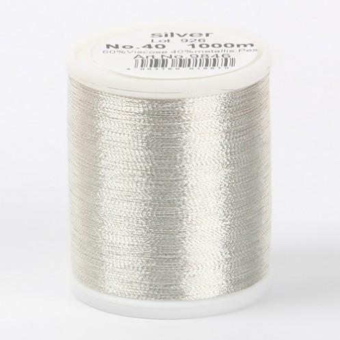 MADEIRA Metallic №40 1000м цвет silver - Интернет-магазин