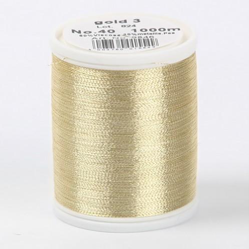 MADEIRA Metallic №40 1000м цвет gold-3 - Интернет-магазин