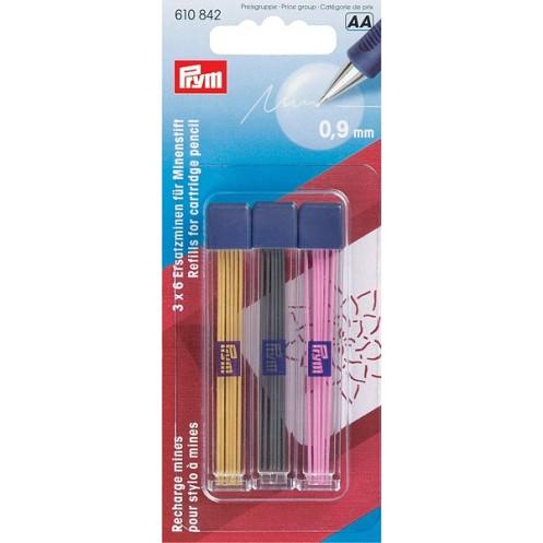 Грифели разноцветные для механического карандаша 18шт PRYM 610842 - Интернет-магазин