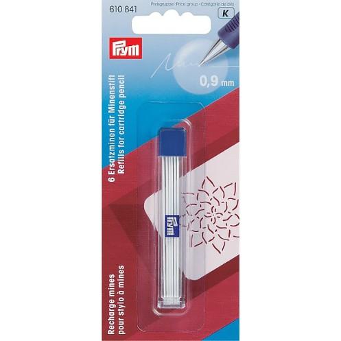 Грифели белые для механического карандаша  6 шт PRYM 610841 - Интернет-магазин