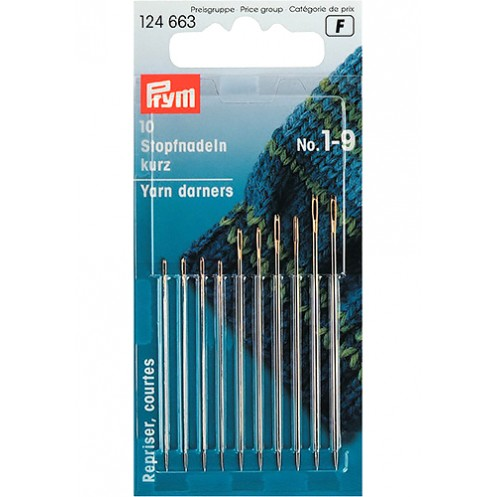 Иглы для шитья ручные №1-9 PRYM PRYM 124663 - Интернет-магазин