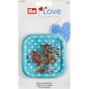 Магнитная игольница Love с набором булавок PRYM 610287