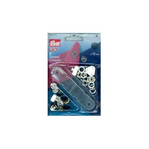 Кнопки Джерси черные, 12 мм PRYM 390170 - Интернет-магазин