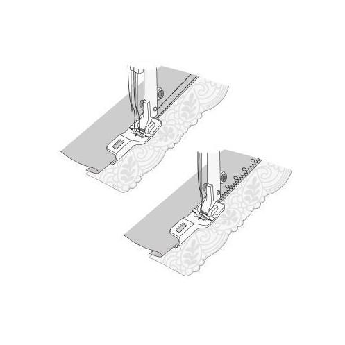 Лапка для подгибки и притачивания кружева HUSQVARNA 413 24 88-45 - Интернет-магазин