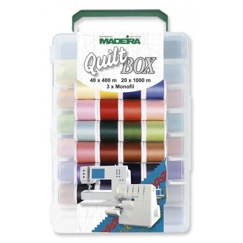 Коробка Quilt Box с набором ниток MADEIRA Aerofil - Интернет-магазин