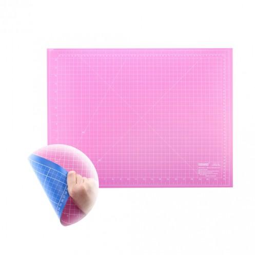 Коврик розово-голубой для раскройных ножей 60x45 см DONWEI DW-12122АС - Интернет-магазин