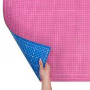 Коврик розово-голубой для раскройных ножей 90x60 см DONWEI DW-12121АС