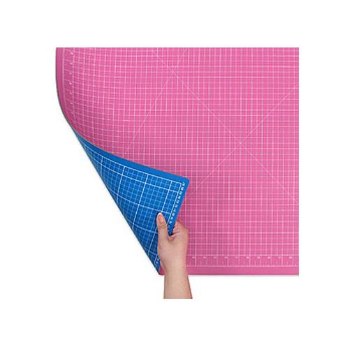 Коврик розово-голубой для раскройных ножей 90x60 см DONWEI DW-12121АС - Интернет-магазин