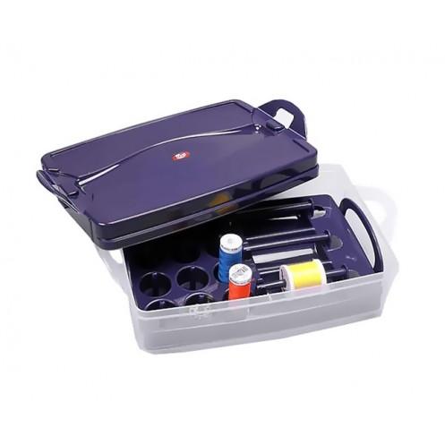 """Шкатулка """"Click Box"""" со вставкой для катушек  PRYM 612406 - Интернет-магазин"""