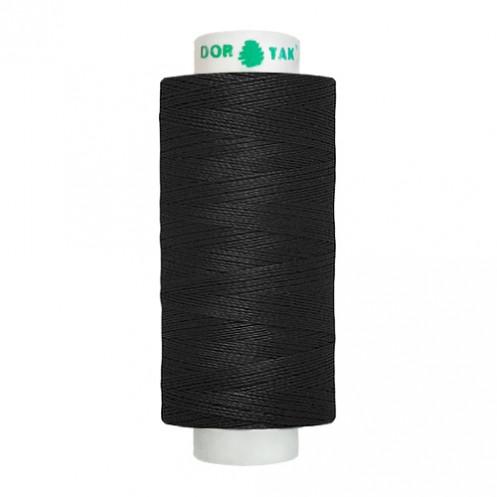 Нитки DORTAK джинс №20/3 (черные) - Интернет-магазин