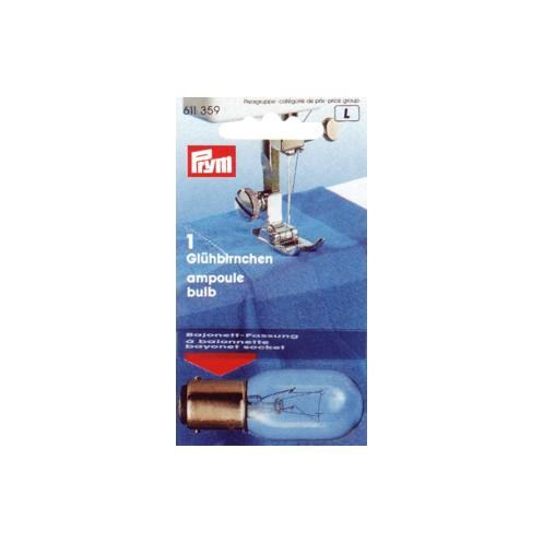 Лампочка двухконтактная для швейной машины PRYM 611359 - Интернет-магазин