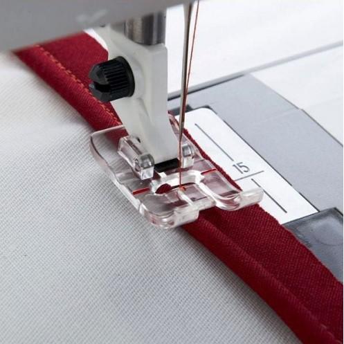 Прозрачная лапка для вшивания канта HUSQVARNA 413 09 71-45 - Интернет-магазин