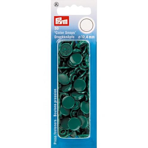 """Кнопки """"Color Snaps"""" круглые темно-зеленые  PRYM 393131 - Интернет-магазин"""