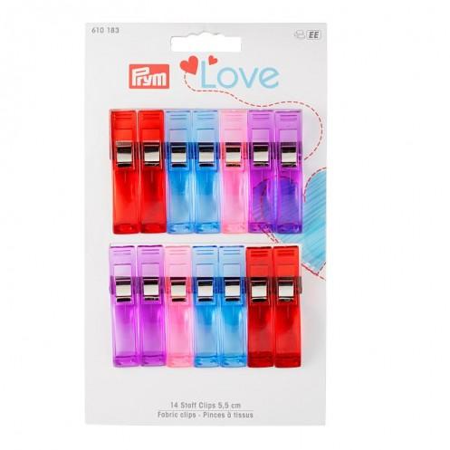 Прищепки Love для рукоделия PRYM 610183 - Интернет-магазин