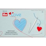 Набор игл Love для шитья и штопки с нитевдевателем PRYM 128161
