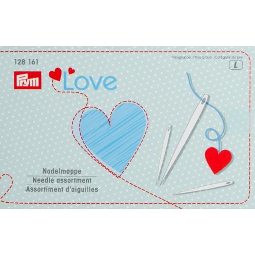 Набор игл Love для шитья и штопки с нитевдевателем PRYM 128161 - Интернет-магазин