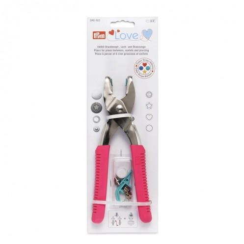 Щипцы Vario серии Love для установки кнопок и люверсов PRYM 390902 - Интернет-магазин