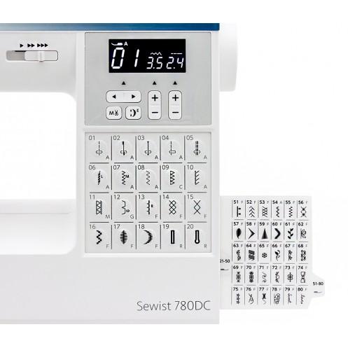 JANOME Sewist 780 DC - Интернет-магазин
