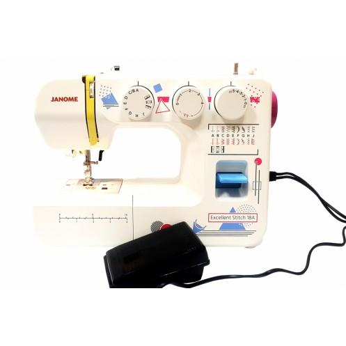 Швейная машина  JANOME Excellent Stitch 18A - Интернет-магазин