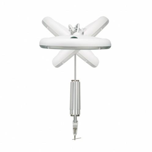 Лупа со светодиодной подсветкой с приспособлением для крепления PRYM 610382 - Интернет-магазин