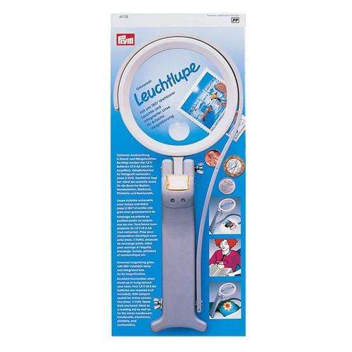 Лупа для вышивания c подсветкой  PRYM 611732 - Интернет-магазин