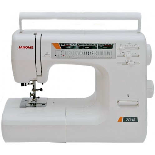 Швейная машина JANOME 7524E - Интернет-магазин